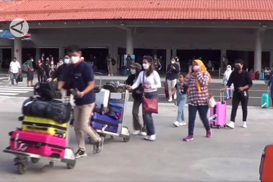 Hingga hari kedua pembukaan, Bandara Bali belum dikunjungi wisman
