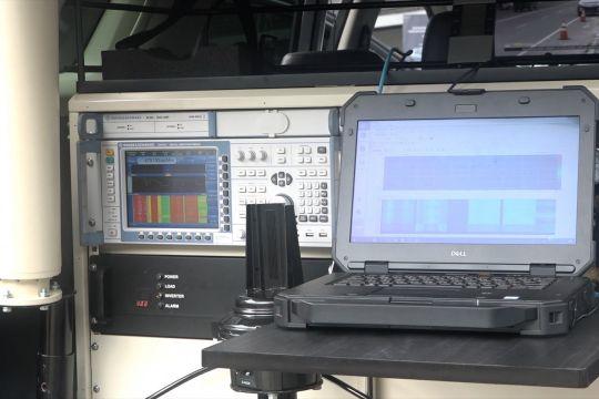Kemkominfo luncurkan mobil monitoring frekuensi