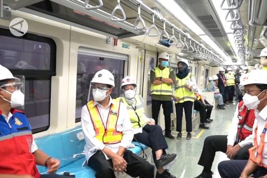 LRT Jabodek rangkaian ke-31 resmi diluncurkan