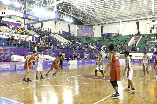 Cetak rekor, Tim Bola Basket Putra Sulut tembus final PON XX