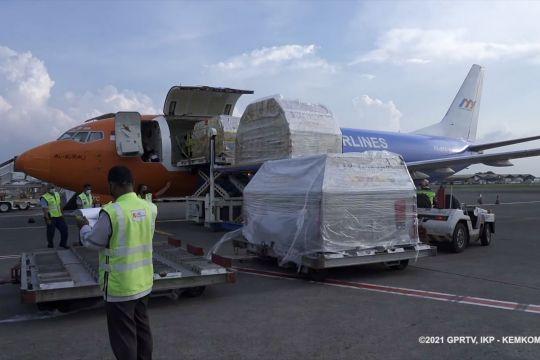 2,5 Juta dosis vaksin Pfizer tiba di Indonesia