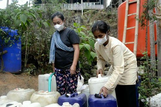 BPBD Magelang salurkan 189 tangki air bersih ke daerah kekeringan