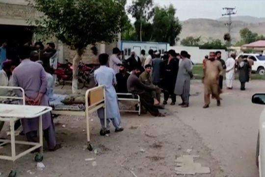 Gempa di Pakistan selatan tewaskan puluhan orang