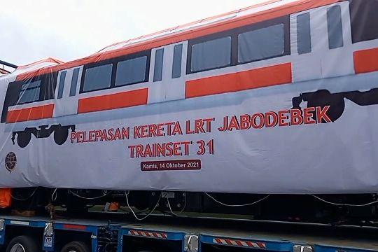 LRT Jabodebek diproyeksikan beroperasi Agustus 2022