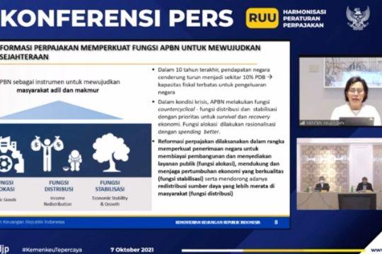 Menkeu: UU HPP bawa Indonesia jadi negara maju pada 2045