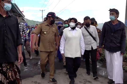 Mensos salurkan bantuan untuk korban gempa Bali
