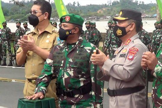 Pangdam VI Mulawarman resmikan Denpom VI/3 Bulungan