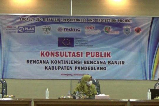 Pemkab Pandeglang gelar rencana kontijensi bencana banjir