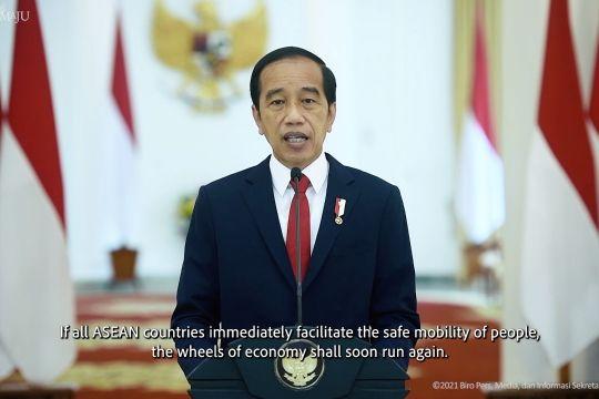Presiden Jokowi ajak ASEAN fasilitasi mobilitas dengan aman