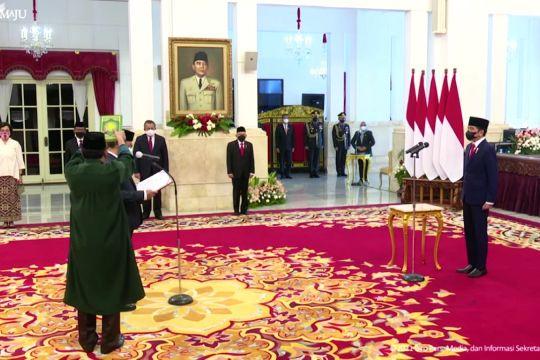 Presiden Jokowi lantik Ivan Yustiavandana sebagai Kepala PPATK