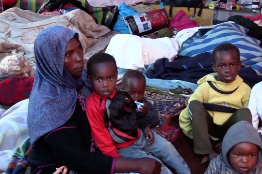 UNHCR berikan bantuan makanan bagi para pengungsi di Libya