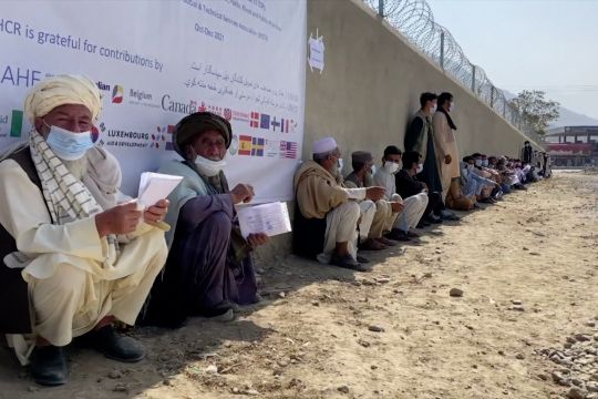 UNHCR berjibaku bantu pengungsi Afghanistan di musim dingin