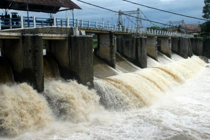 Ketinggian air Waduk Katulampa meningkat