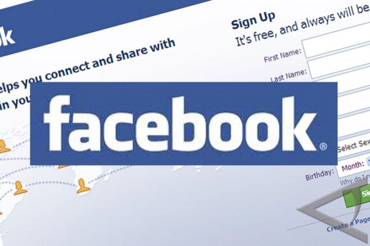 Facebook desain ulang tampilan