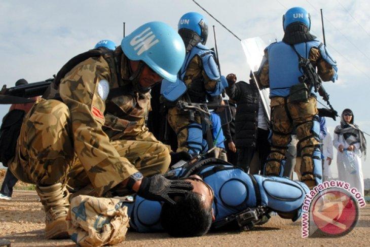 Indonesia-Prancis Gelar Latihan Bersama di Lebanon