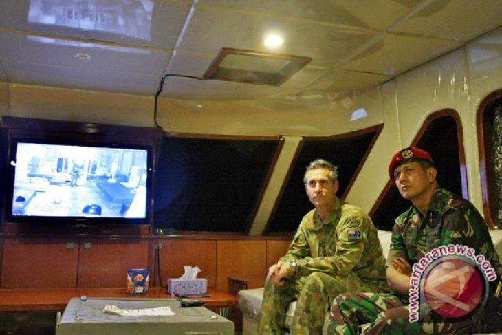 Kopassus latihan bersama pasukan elit Australia