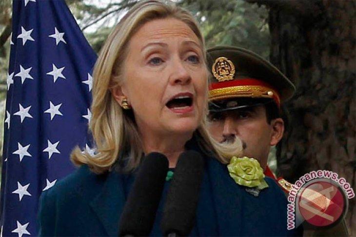 Hillary Clinton kunjungi Afghanistan