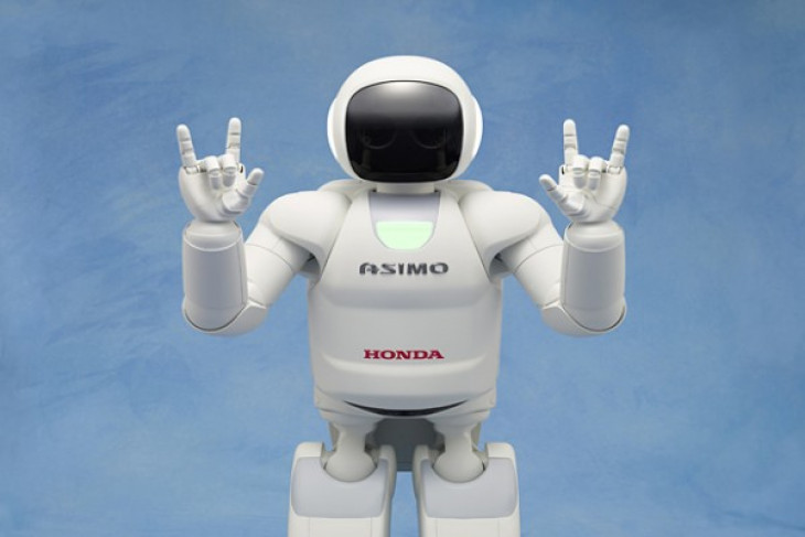 Robot Honda Asimo kini berusia 20 tahun 1