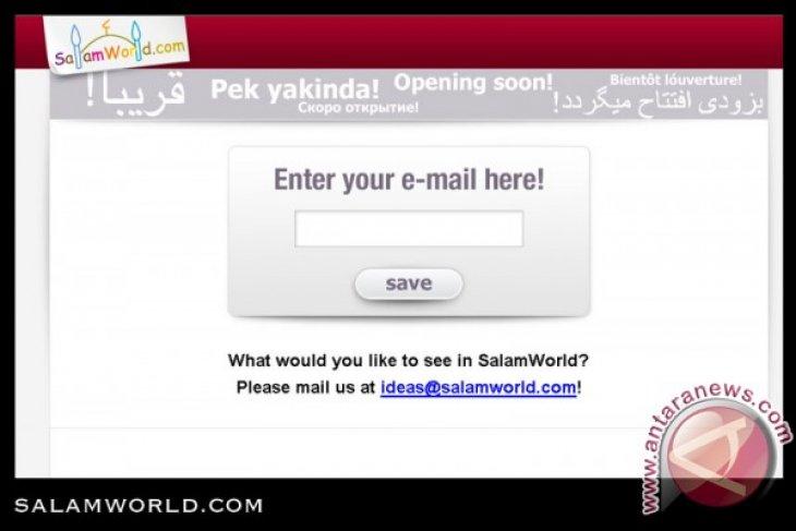 """""""Salam World"""" internet halal untuk muslim"""