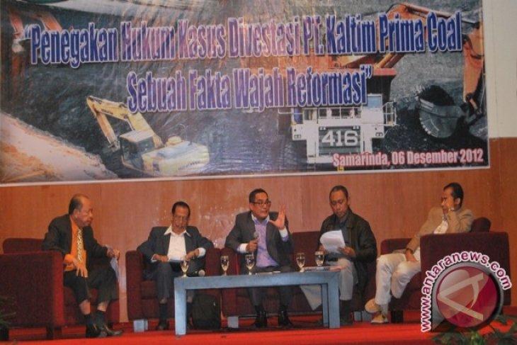 Dekan Unmul: Divestasi Saham KPC  Justru Menguntungkan