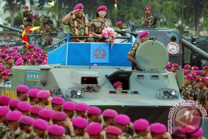 Ribuan prajurit marinir lepas Kasal Soeparno