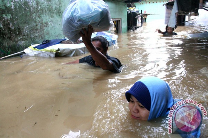 Dua desa di Pati dilanda banjir bandang