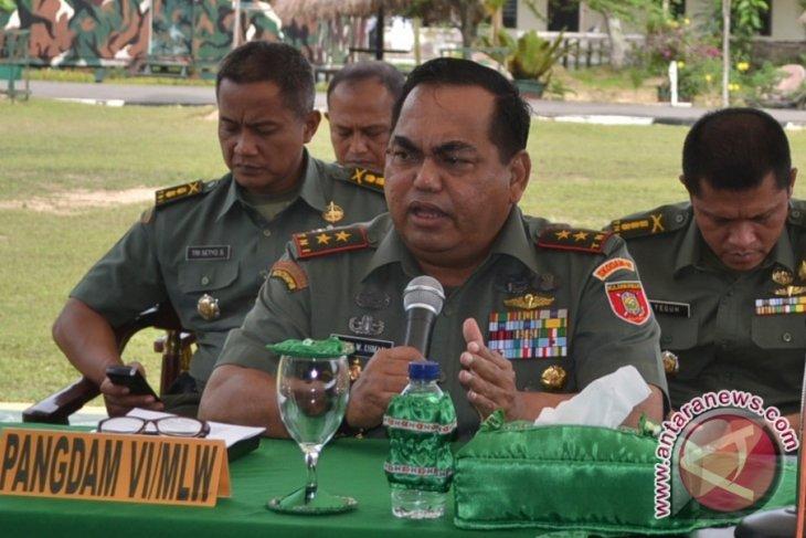 Pangdam: Tank Scorpion Jaga Perbatasan RI-Malaysia