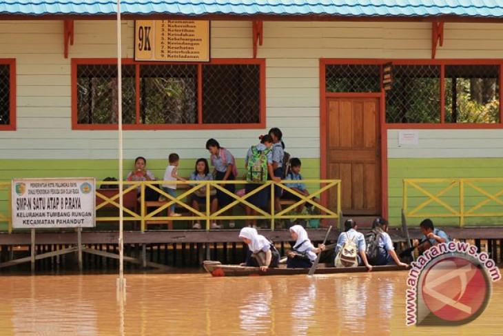 Kecamatan Teweh Timur kembali dilanda banjir