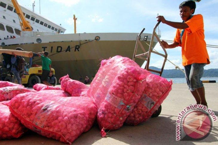 Harga bawang merah di Ambon turun