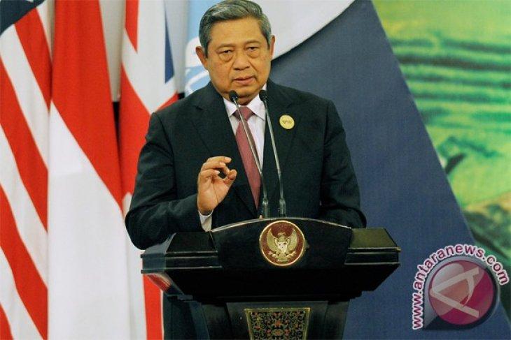 SBY tinjau gedung KTT APEC di Bali