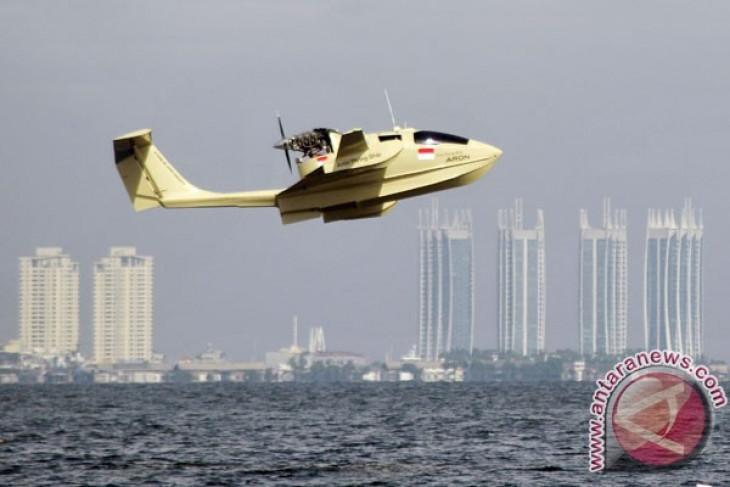 Pesawat amfibi Aron jalani uji terbang