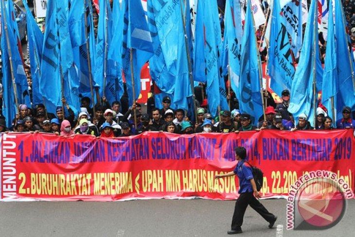 Ini titik macet di Jakarta pada May Day besok