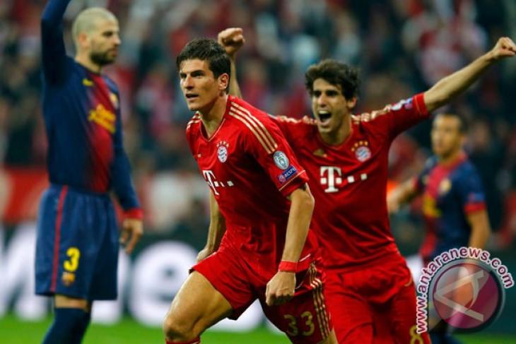 Bayern vs Barcelona 4-0
