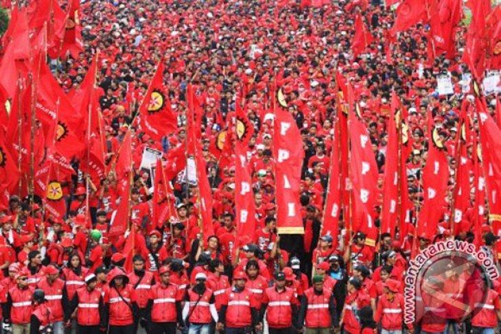 Buruh rencanakan mogok nasional akhir Oktober