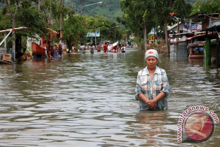 Banjir Bone Bolango meluas