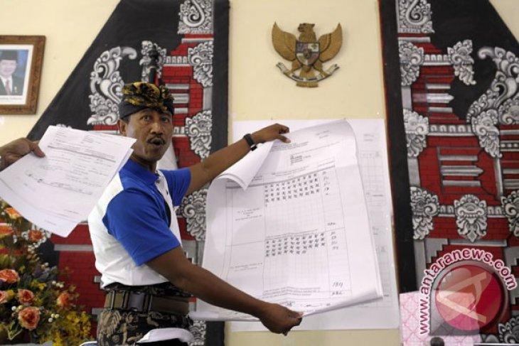 Hitung Suara Pilkada Bali