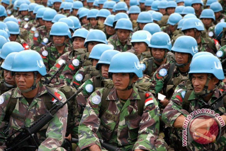 Indonesia aims to be among the top ten peacekeeping contributors