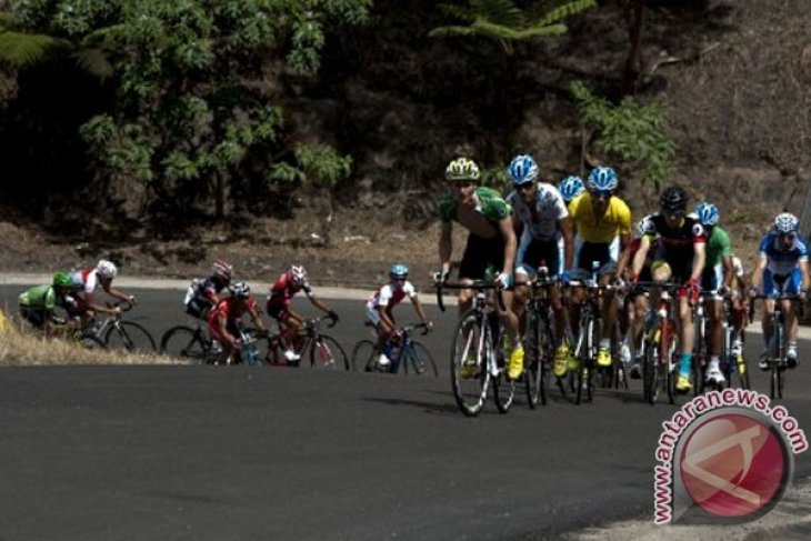 Etape kedua Tour de Singkarak 2013