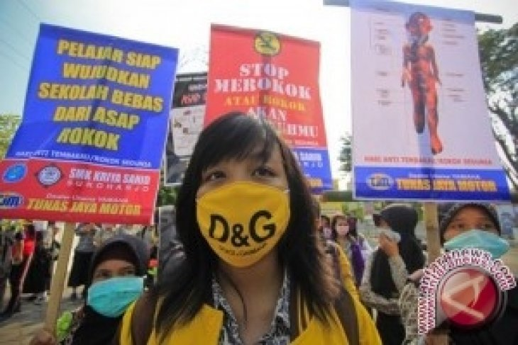 Pelajar Muhammadiyah desak pelarangan total iklan rokok