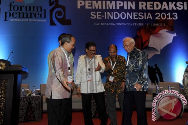 Forum Pemred bukan untuk kepentingan politik