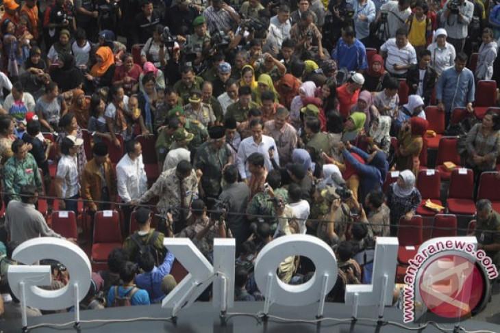 Jokowi siapkan hadiah mobil bagi pembeli di Blok G