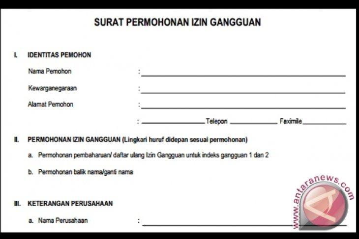 Contoh Surat Izin Lingkungan Untuk Usaha