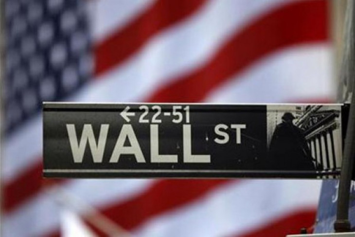 Wall Street berakhir jatuh terseret penurunan saham Apple