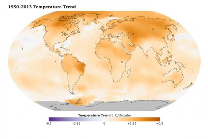 Penelitian: perang melawan pemanasan global lebih berat daripada perkiraan