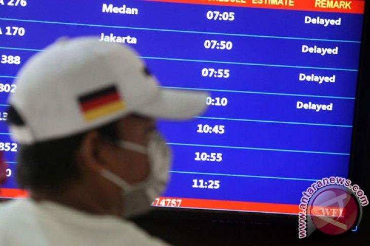 Asap pekat kembali ganggu aktivitas bandara Pekanbaru