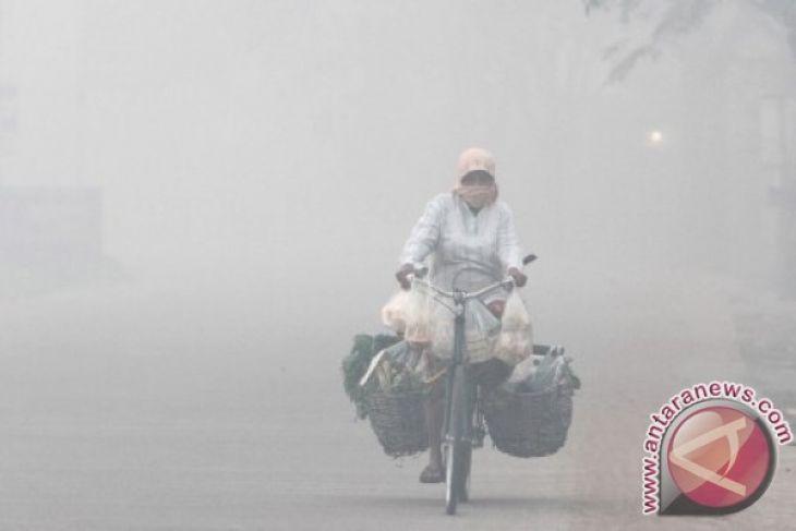 BMKG: kabut asap Riau capai Singapura