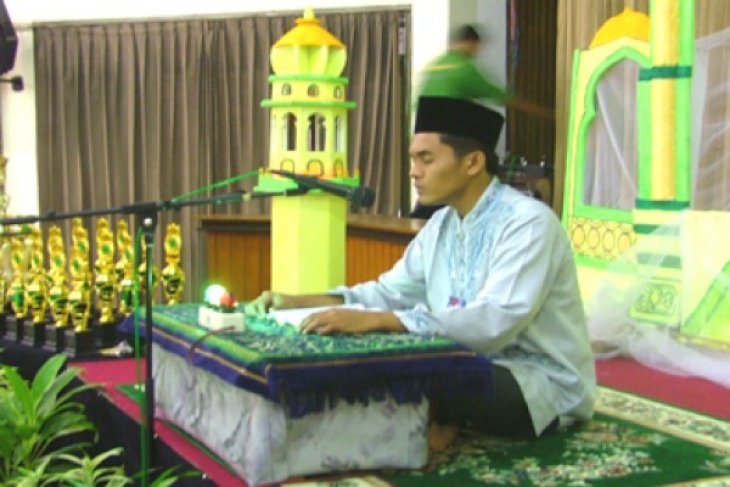 Kontingen MTQ nasional asal Kalimantan Barat unjuk kebolehan
