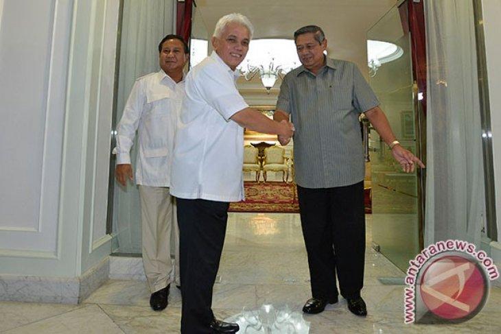 Yudhoyono explains presentation plan of Probowo-Hatta pair