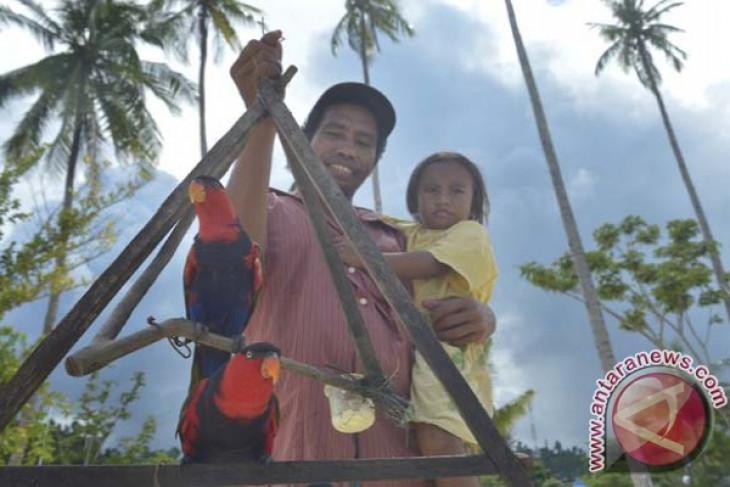 BKSDA Jabar tangkap penjual burung nuri