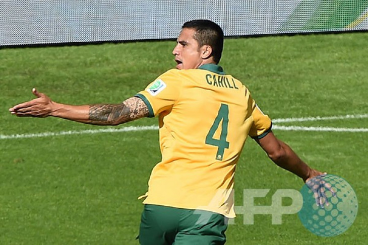 Harapan Cahill, cetak gol di empat edisi Piala Dunia